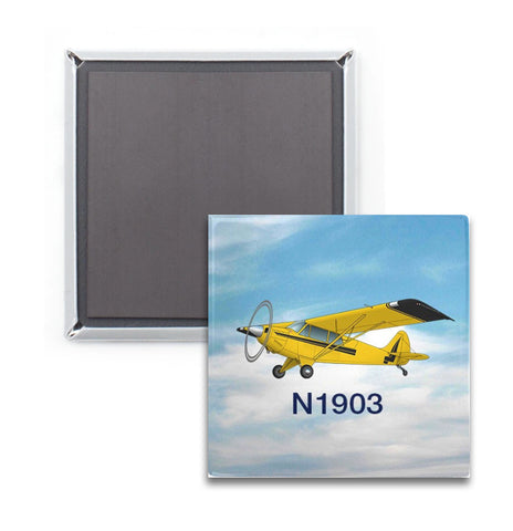 Custom 2x2 Metal Magnets (Pack of 3)