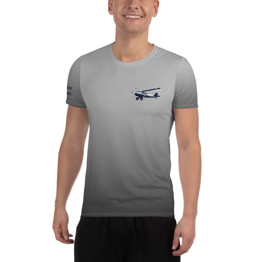 Custom All-Over Print Men's Athletic T-shirt
