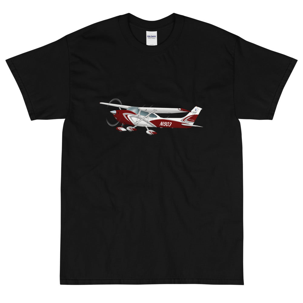 Airplane Custom T-Shirt - AIR35JJ182KLI2F-R1