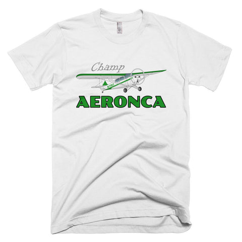 Aeronca Champ (Green) Airplane T-shirt - Personalized your N#