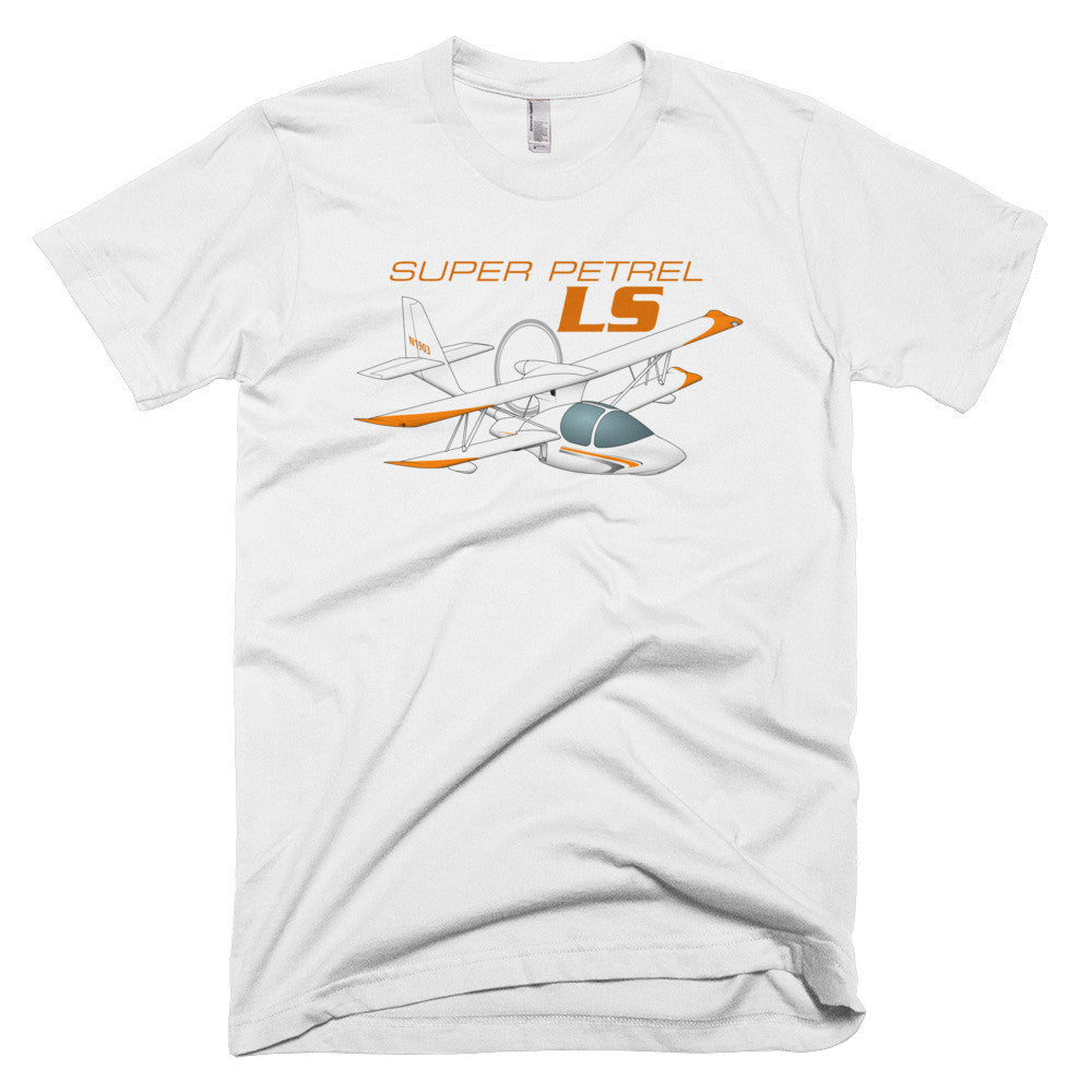 Super Petrel LS Airplane T-shirt - Personalized with N#