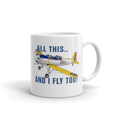 I Fly Too! Theme Mug - AIRIP1ST3