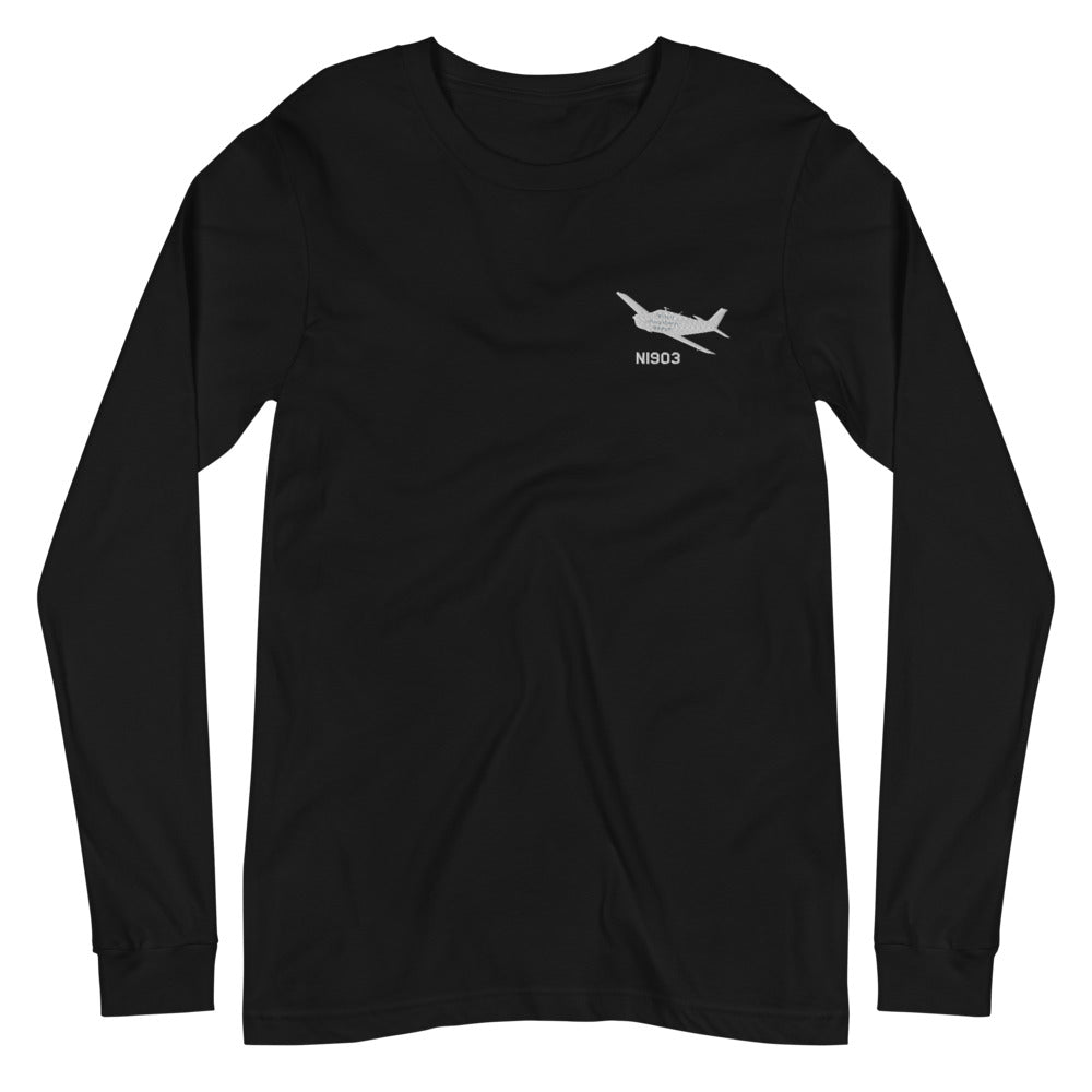 Custom Embroidered Bella + Canvas 3501 Long Sleeve Jersey Tee