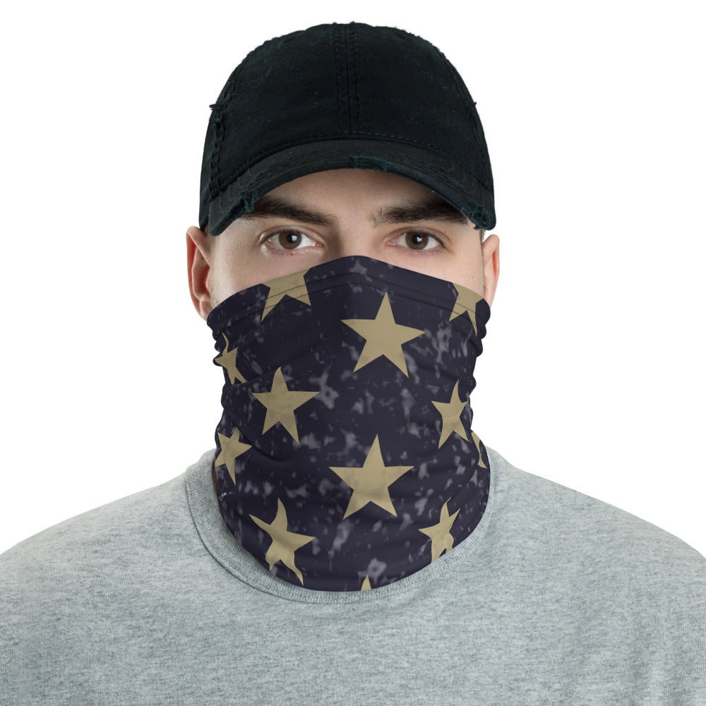American Flag Neck Gaiter -  Personalized with your N#