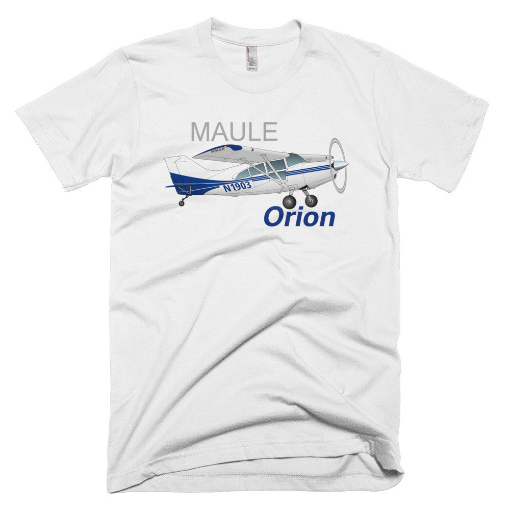 Maule Orion (Blue) Airplane T-shirt - Personalized with Your N#