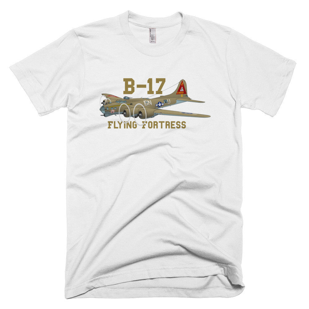 Boeing B-17 Flying Fortress Airplane T-shirt - Personalized your N#