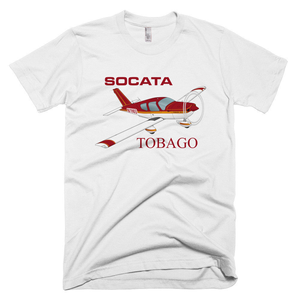 Socata Tobago TB 10 Airplane T-shirt - Personalized with N#