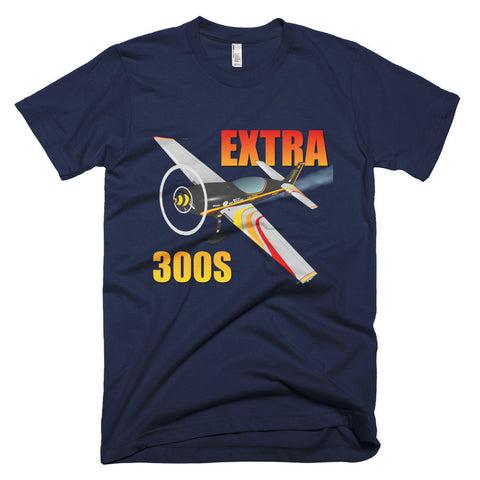 Extra 300S (Black) Airplane T-shirt- Personalized with N#