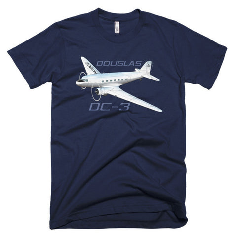 Douglas DC-3 Airplane T-shirt - Personalized with Your N#