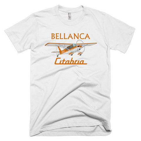Bellanca Citabria 7KCAB (Orange) Airplane T-shirt - Personalized with Your N#