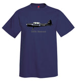 De Havilland Canada DHC-1 Chipmunk Airplane T-Shirt - Personalized with Your N#