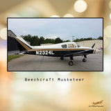 Beech Boyz Beechcraft 23 Musketeer Airplane Design