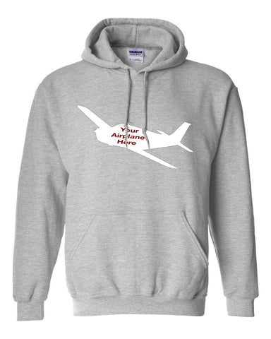 Custom Aviation Gildan Hoodie - Personalized w/ your Airplane Aircraft