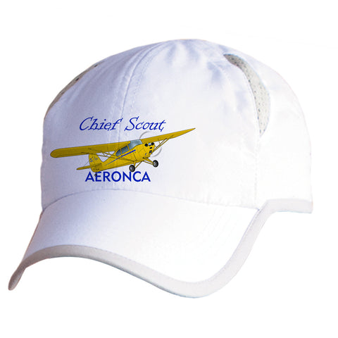 Aeronca 11ACS Chief Scout Airplane Pilot Hat - Personalized with N#