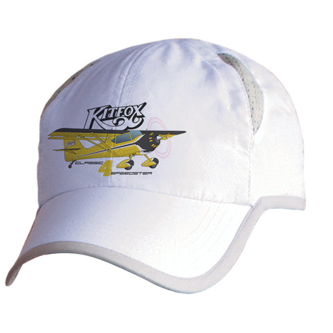 Kitfox 4 Speedster Airplane Pilot Hat - Personalized with N#