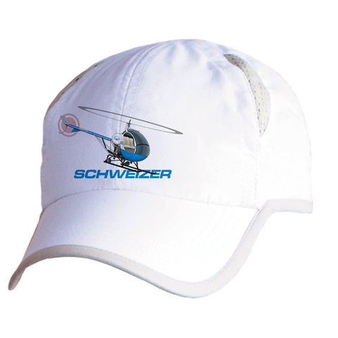 Schweizer 300 CBI (Blue) Airplane Pilot Hat - Personalized with N#
