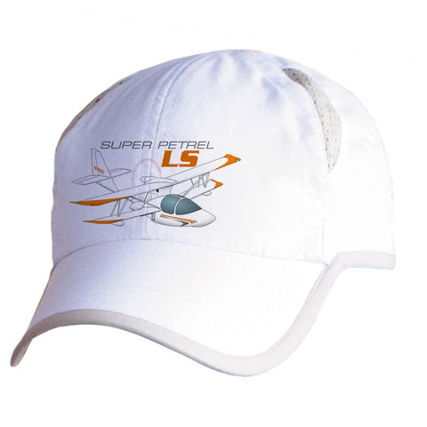 Super Petrel LS Airplane Pilot Hat - Personalized with N#