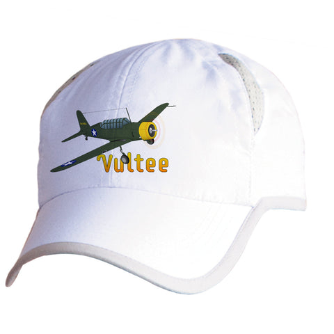 Vultee BT-13 Valiant Airplane Pilot Hat - Personalized with N#