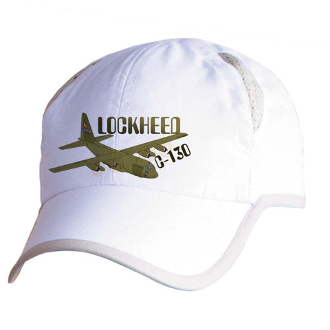 Lockheed USAF C-130E Hercules Airplane Pilot Hat - Personalized with N#