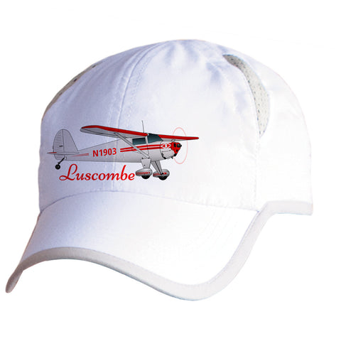 Luscombe 8E Silvaire Airplane Pilot Hat - Personalized with N#