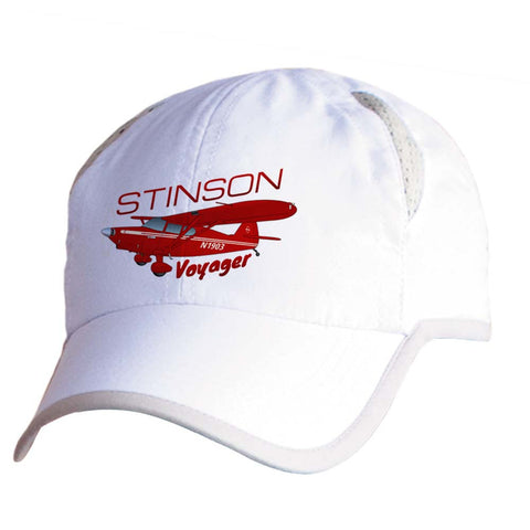 Stinson Voyager Airplane Pilot Hat - Personalized with N#