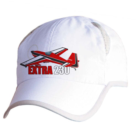 Extra 230 Airplane Pilot Hat - Personalized with N#