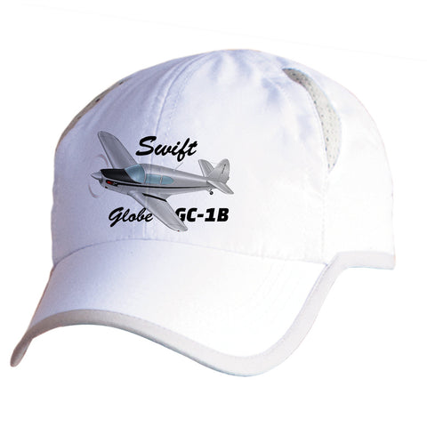 Globe/Temco Swift GC-1B Airplane Pilot Hat - Personalized with N#