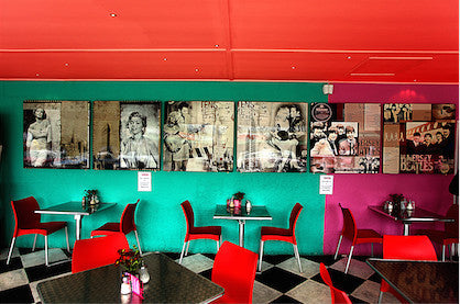 A Retro Cafe, Limited Edition Photograph