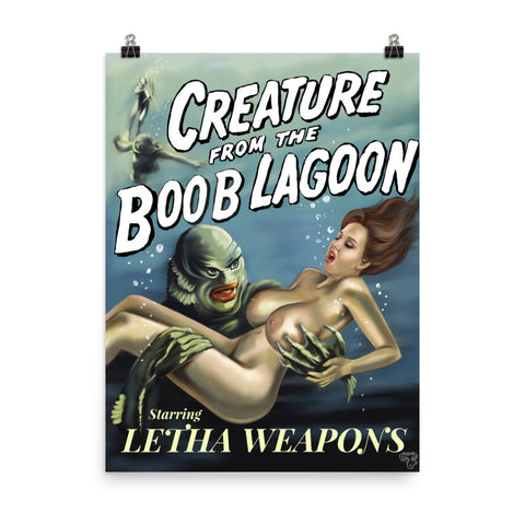 Creature from the Boob Lagoon