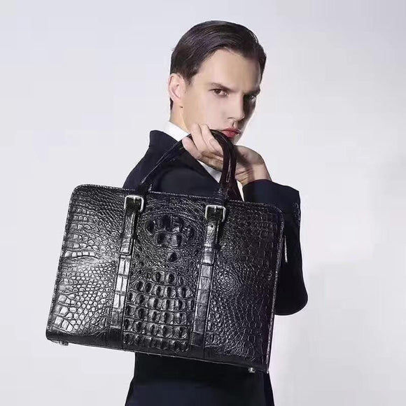 Mens Crocodile Leather Bag & Handbags