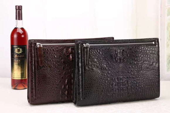 Crocodile Wallet & Clutch