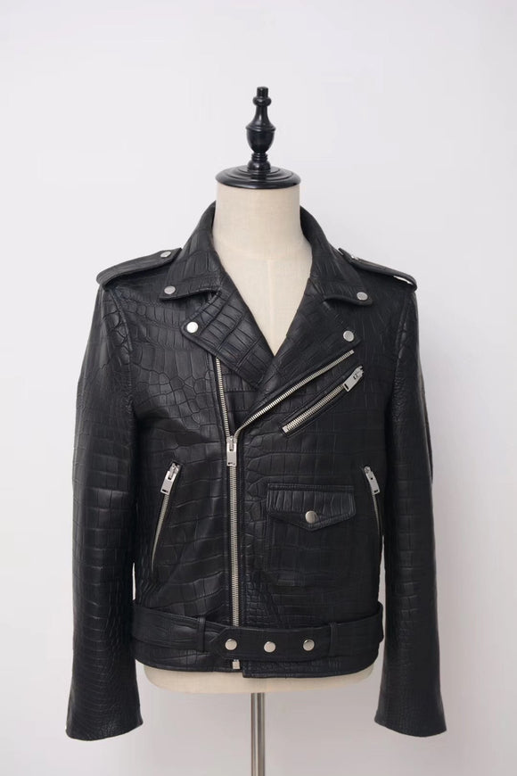 Crocodile Leather Jackets