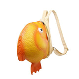3D Animal Backpack 3D Girls Mini Waterproof Cartoon Cute Goldfish Backpack