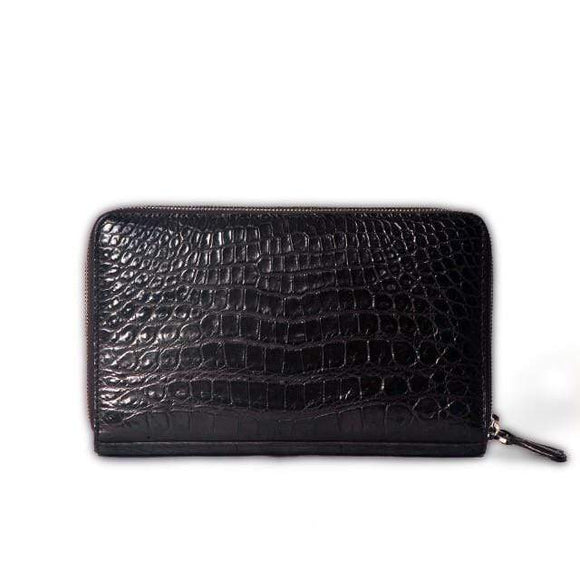 Crocodile Belly  Skin Credit Card Holders & Wallets for Modern Money Storing