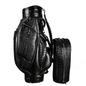 Crocodile Leather Golf Bag Sets - Men & Womens Package Sets