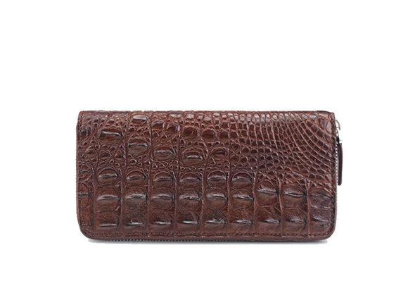 Genuine crocodile leather wallet