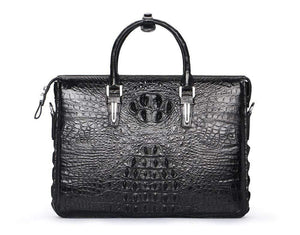Men's Crocodile Leather Briefcase,Business Bag,Computer Bags,Laptop Bags
