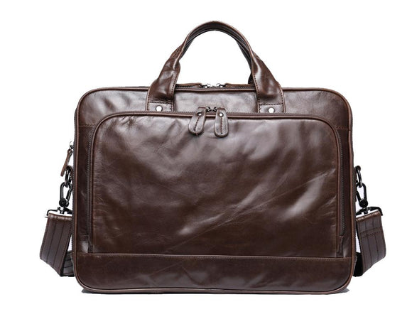 Mens Leather Briefcase 14
