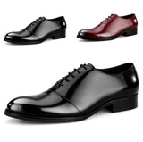 Mens Plain Formal Buiness Lace Up Dress Shoes