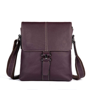 Rossie Viren Men's  Metropolitan Slim Messenger Bag