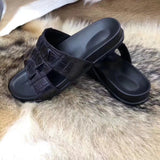 Genuine   Crocodile Leather  Slipper - Rossieviren