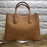 Women's Ostrich Leather Tote bags