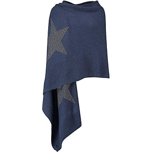 XL Cashmere Travel Wrap THREE STARS (gold)