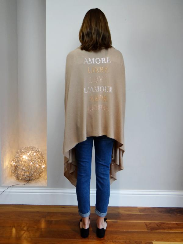 XL Cashmere Travel Wrap AMORE