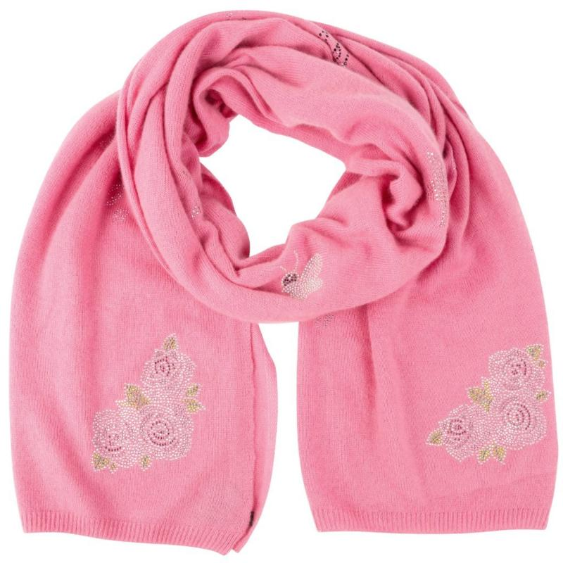 NEW: XL Chunky, knitted cashmere travel wrap #LOVEPINK