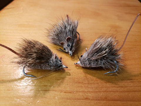 Mouse Fly, Deer Hair Mouse Fly, Deer Hair Mice, Floating Deer Hair Mouse, Floating Mouse