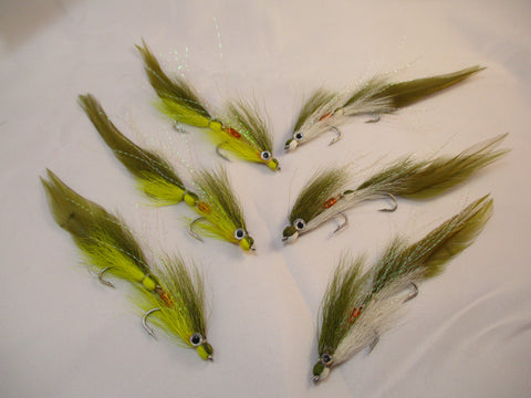 Articulated Deceiver Fly, Lefty's Deceiver, Articulated Deceiver Streamer Fly