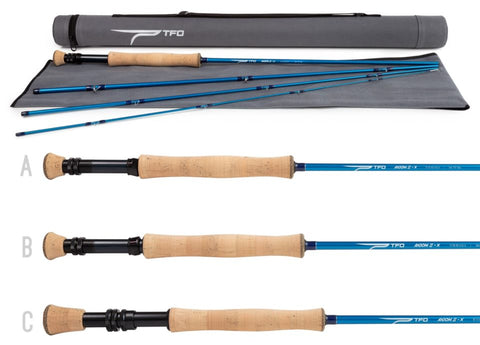 Temple Fork Outfitters Axiom II X Fly Rod, TFO Axiom 2 X Fly Rod