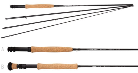 Temple Fork Outfitters NXT Black Label Fly Rod,  TFO Black Label Fly Rod