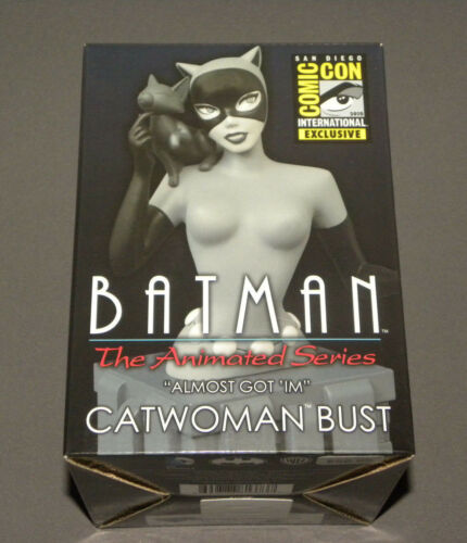 Batman Almost Got 'Im Catwoman Bust SDCC Exclusive Animated Series
